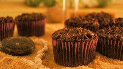 """Double Trouble"" Chocolate cupcake"