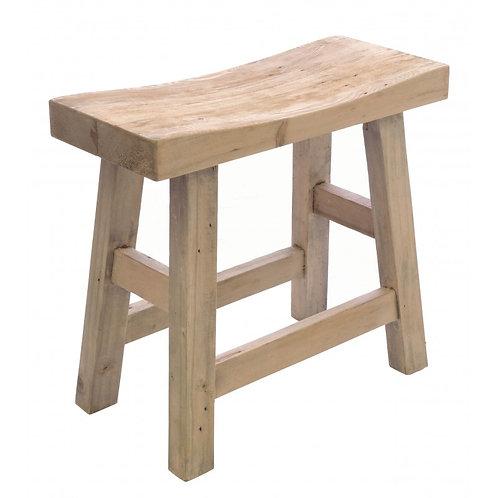 Vintage saddle stool