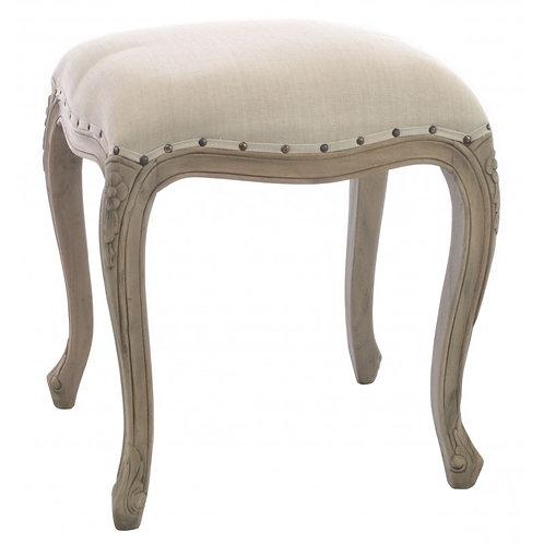 Vintage upholstered stool