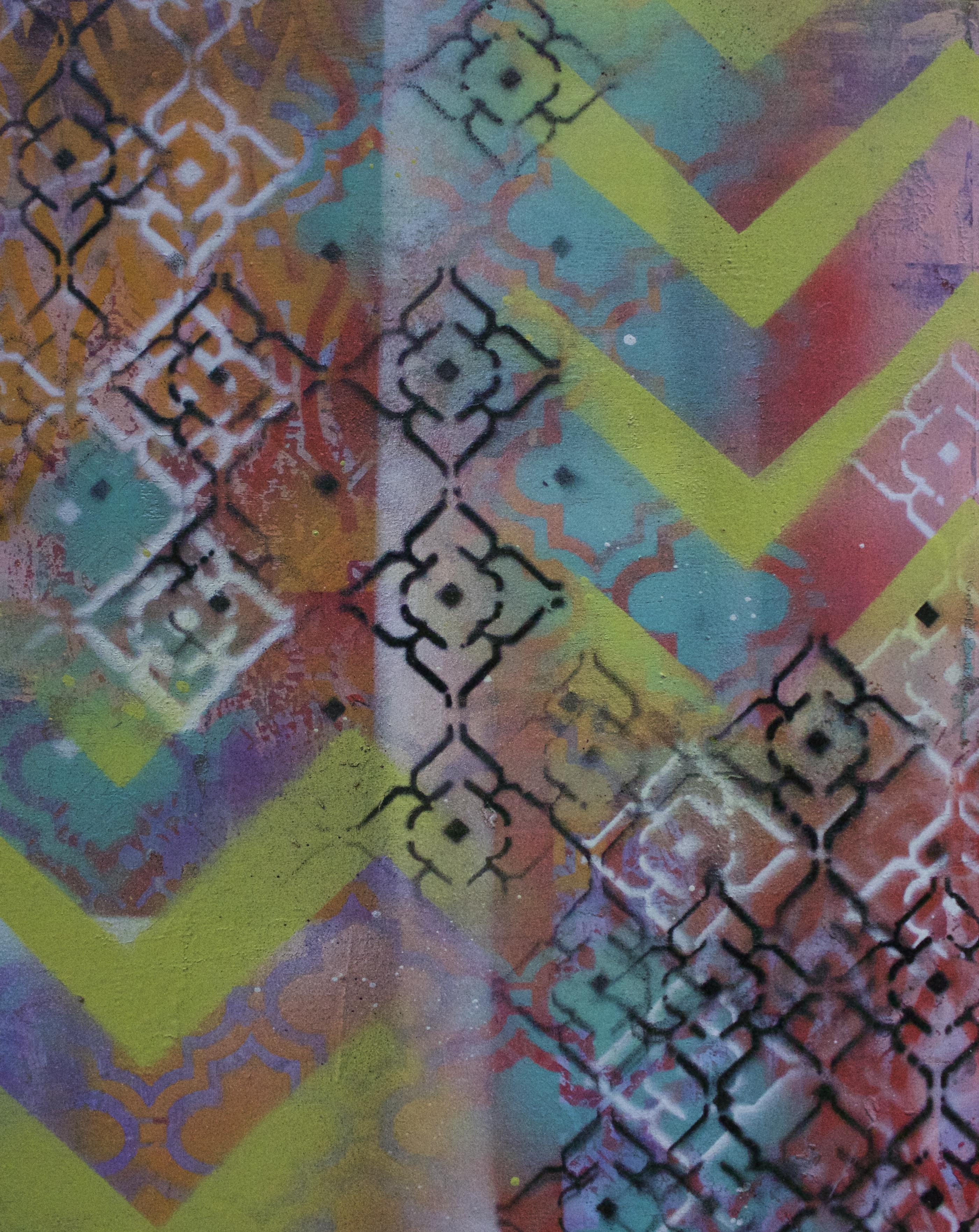Acrylic on wood block, 8x10 - - SOLD