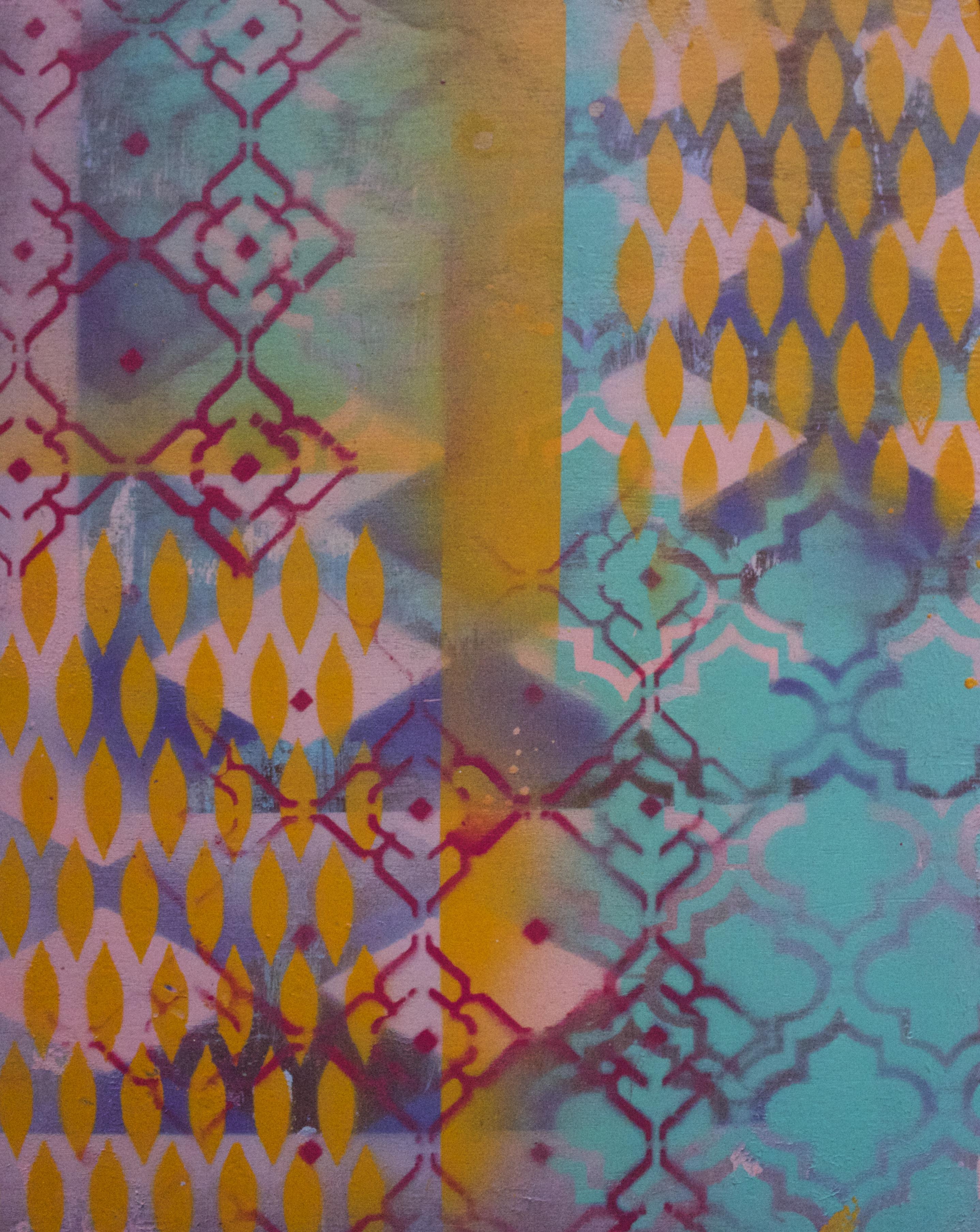 Acrylic on wood block, 8x10 - SOLD