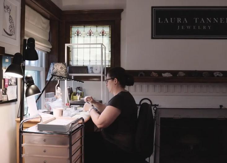 Laura Tanner, Jewelry Designer
