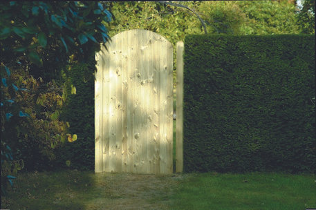 Arched Tongue & Groove Gate treated 180cm x 90cm