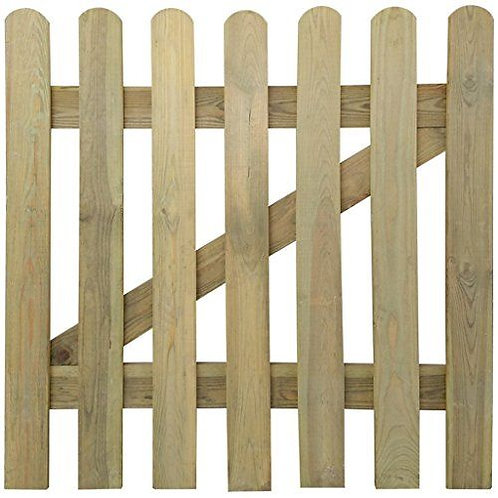 Round Top Picket Gate (Various)