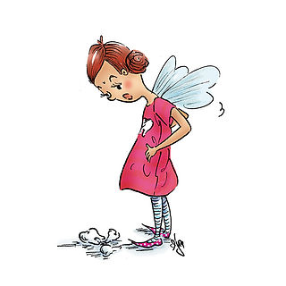 ©angelagstalter kidsillustration, childrensbookillustration, tooth fairy