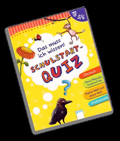 Arena Verlag Schulstart-Quiz ab 5/6