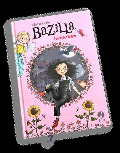 Bazilla Band 1 Cover Illustration Kinderbuch Feen Vampire