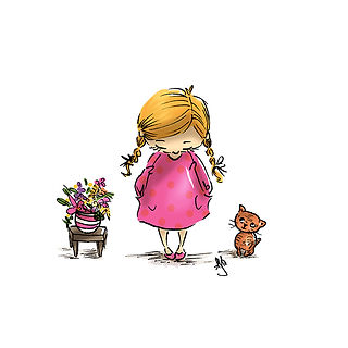 ©angelagstalter kidsillustration, childrensbookillustration, digitalillustration, cute illustration