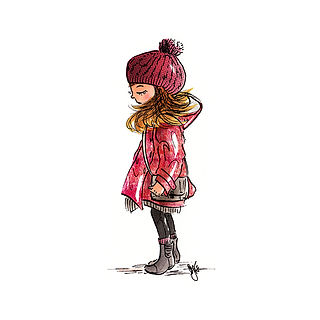 ©angelagstalter fashion illustration, Kid's fashion illustration, Modeillustration, Kindermodeillustration