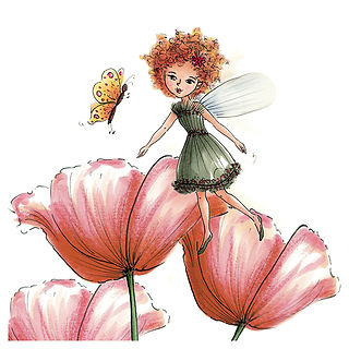 ©angelgstalter kidslitart, childrenillustration, kinderbuchillustration, cute, little fairy illustration