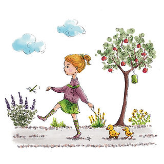 ©angelgstalter kidslitart, childrenillustration, kinderbuchillustration, cute