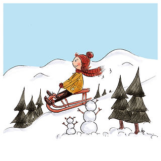 Kinderbuch Illustration, children's book illustration, character design, cute illustration, Kinderbuchillustration, ©angelagstalter