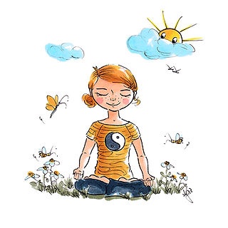 ©angelagstalter kidsillustration, childrensbookillustration, yoga illustration