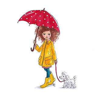 ©angelagstalter editorial illustration, kidsillustration, childrensbookillustration, girls fashion illustration