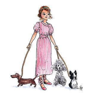 ©angelagstalter kidsillustration, childrensbookillustration, fashion illustration, editorial illustration