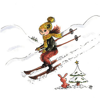 ©angelagstalter kidsillustration, childrensbookillustration, winter illustration