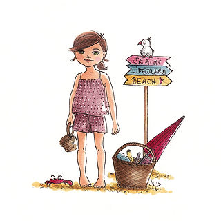 ©angelagstalter kidsillustration, childrensbookillustration, girls fashion illustration
