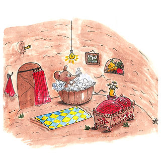 ©angelagstalter kidsillustration, childrensbookillustration, picurebook illustration, little mouse