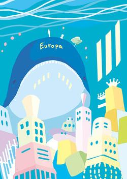 エウロパの街