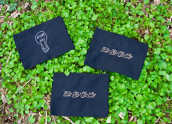 asym pouches- 9 inches