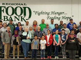 Regional Food Bank Volunteer Day!