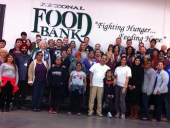 Regional Food Bank Volunteer Day