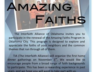 2011 Amazing Faiths Dinners