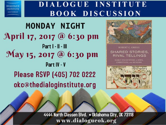 Dialogue Institute Book Discussion