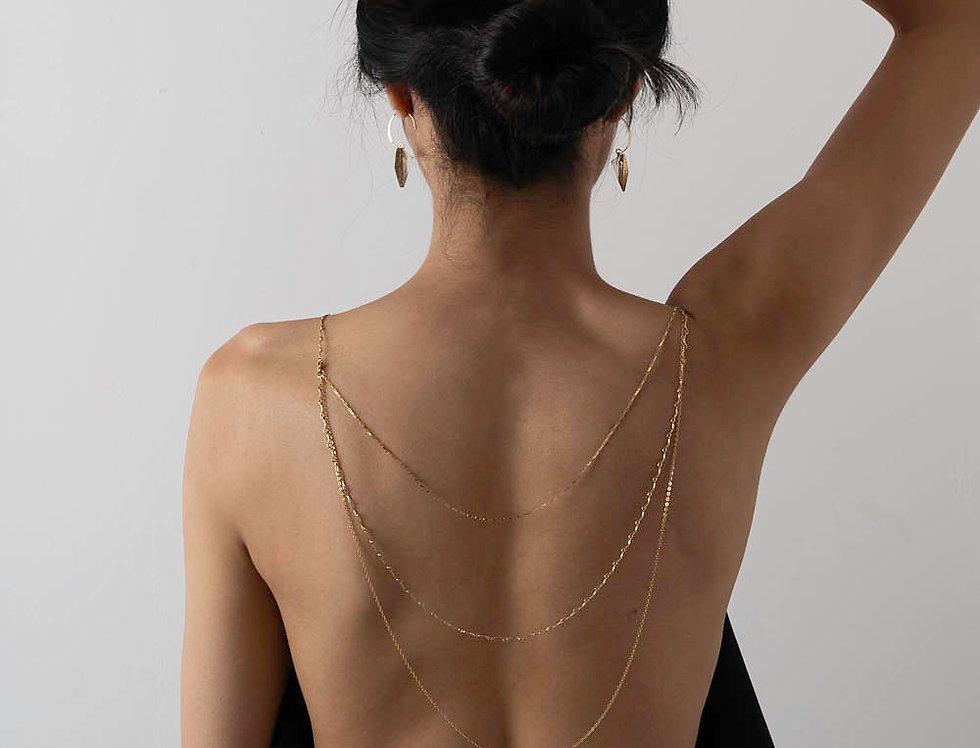 Sandra Back Necklace Necklace