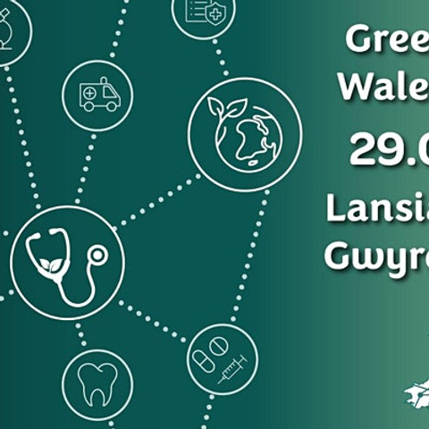 Green Health Wales Launch