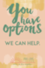 You have options. We can Help