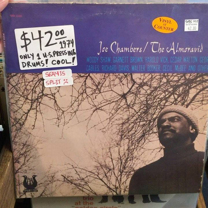A Joe Chambers original and early/later reissued jazz titles in today's new arrivals!  . #fatcatrecordsus #joechambers #ornettecoleman #hankmobley #miltjackson #johncoltrane #willisjackson #artblakey #artfarmer #donaldbyrd #cannonballadderley #sonnyc