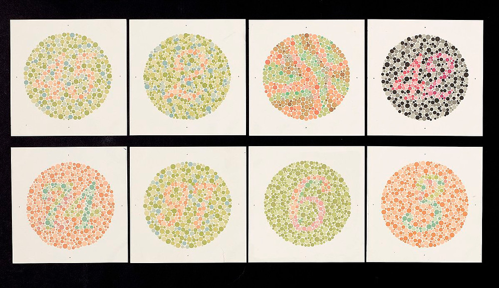 Diagnosis of color blindness
