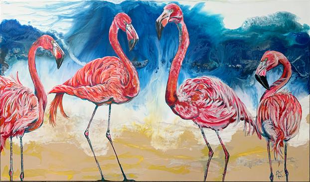 Flamingo Family of Four.jpg