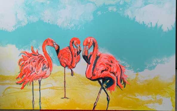 Bright Day Flamingos.JPG