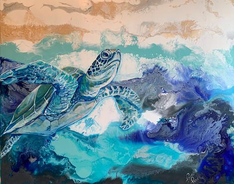 Rising Turtle