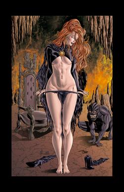 Goblin Queen Illustration