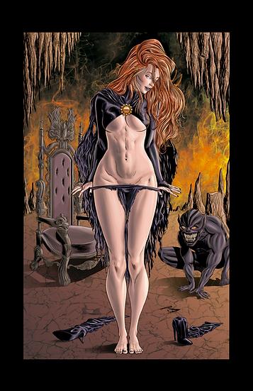 Goblin Queen 8,5In X 11 In Print- Rainha dos Duendes Print A4