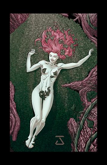 Poison Ivy American Beauty 8,5In X11In - Hera Venenosa Beleza Americana Print A3