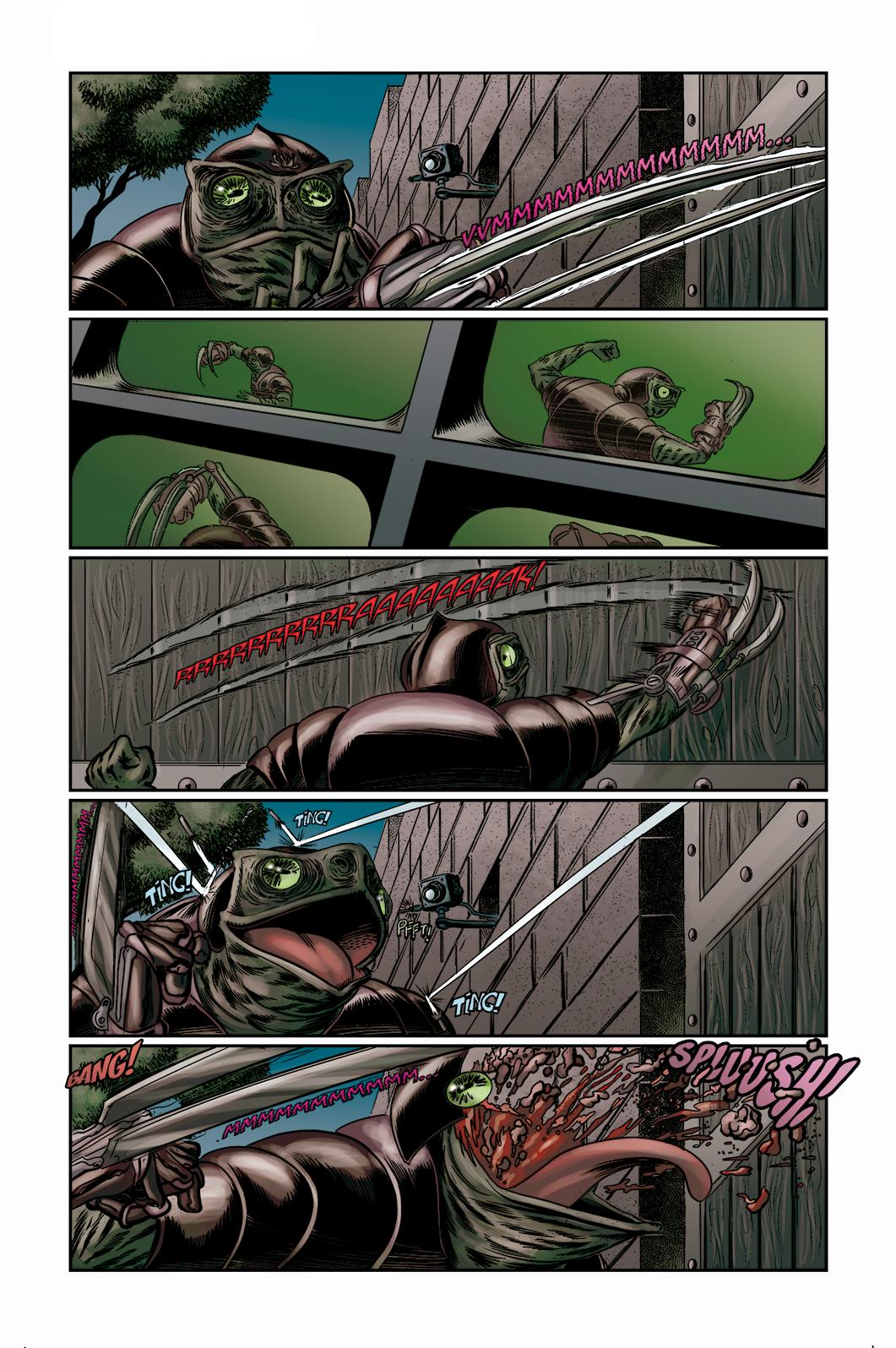 """Página 2 de """"O Nobre e o Rifle"""", da antologia RANCHO DO CORVO DOURADO, de 2019. Linhas e colorização"""