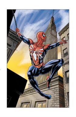 Spider-Man Digital Illustration