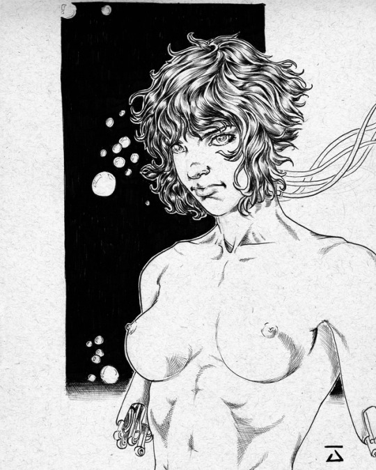 Motoko Kusanagi - Ink