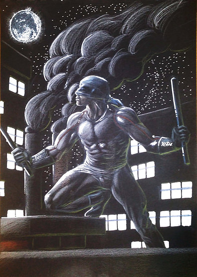 Arte Original: Netfix's Daredevil Noir