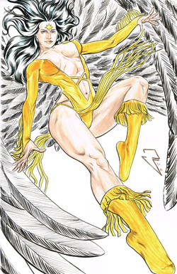 Dawnstar - Watercolor and Ink