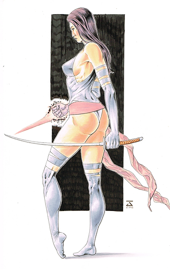 Commission 8.5In X 11In (A4) FULL BODY - CORPO INTEIRO