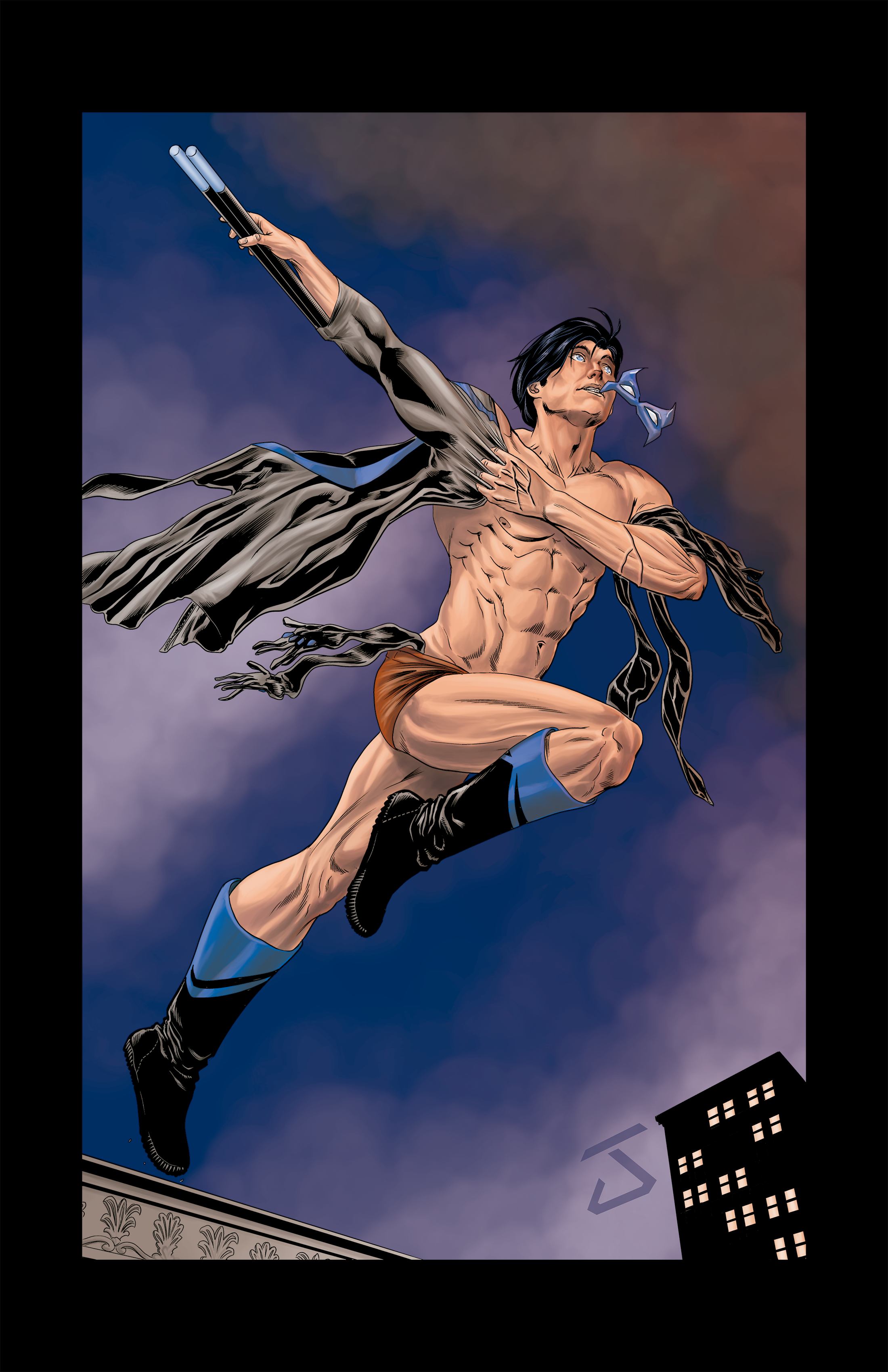 Nightwing Illustration