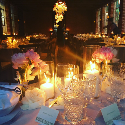 The view from the sweetheart table