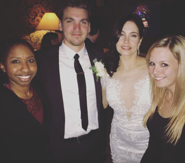 Lisa and Ryan with the couple