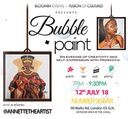 Bubble and Paint: July 2018 Edition