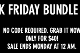 Black FridayBundle Deal!